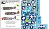 "LPS Hobby Republic P-47D Thunderbolts ""Gabreski's Razorbacks"" 1/72"