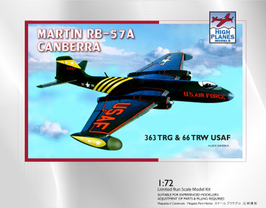 High Planes Martin RB-57A Canberra