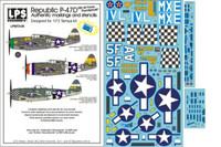"LPS Hobby Republic P-47D ""8 Air Force Thunderbolts"" 1/72"