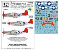 """LPS Hobby North American P-51 """"Tuskegee Mustangs"""" 1/72"""