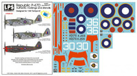 "LPS Hobby Republic P-47D ""British Thunderbolts"" 1/48"