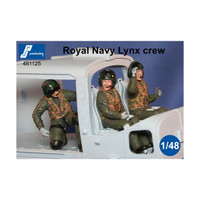PJ Productions Royal Navy Lynx Crew Figures 1:48