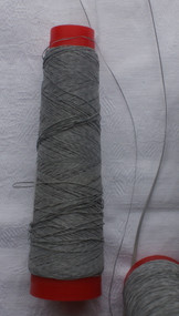 Reflective yarn or thread