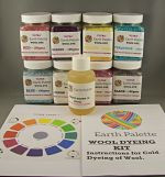 Earth Palette Wool & Silk Dyeing Kit - Cold Water Dyes