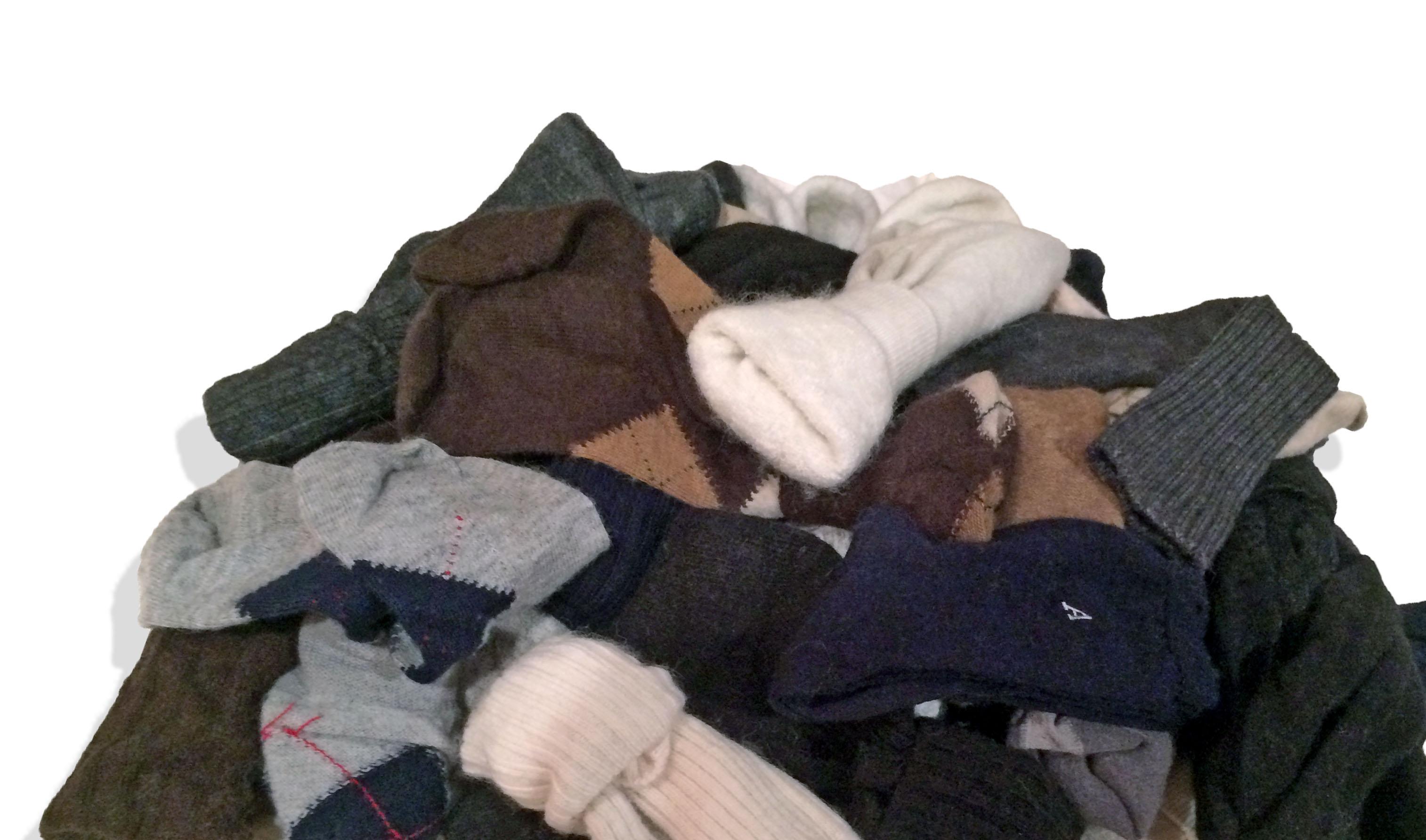 giant pile of socks - photo #1