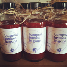 bumps & bruises be gone available by special request. St John's Wort oil combined with black pepper essential oil to exponeniate its therapeutic value.