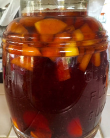 holiday hooch ~ fruit, spice, warmth.. perfect to liven up your holiday cheer