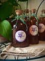 Large bottle sold individually, and the smaller bottle is included in our upcoming December Herbal CSA.