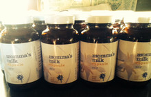 momma's milk capsules available in 100 & 300 count as well as liquid dropper and loose leaf tea form.