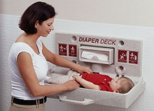 Diaper Deck Restroom Changing Stations