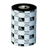 "Zebra 03200GS08407 Thermal Transfer Wax/Resin Ribbon (3.3"" x 244') 3200 High Performance, 12 Rolls"