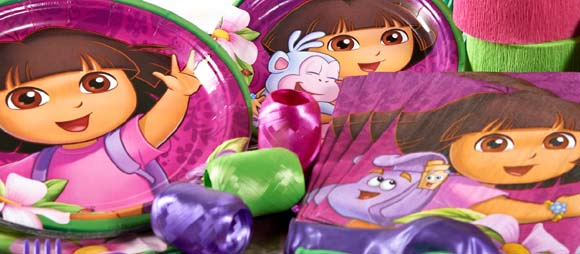 Dora The Explorer Party Supplies For Kids Birthday Party