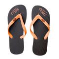 Chocolate Orange - Brown/Orange Flip-Flops