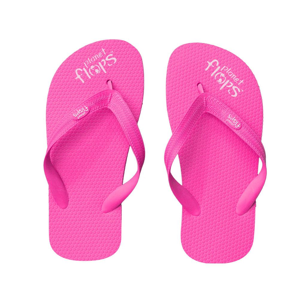 4e98af9cc Cotton Candy - Neon Pink Kids Flip-Flops. Price   28.00. Image 1
