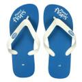 Blueberry - Blue/White Flip Flops