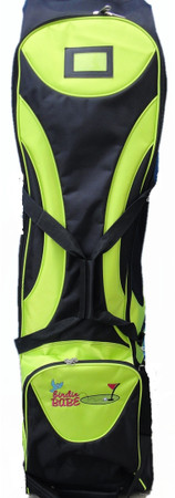 lime green golf travel bag