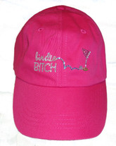Birdie Bitch Bling It On Pink Hat