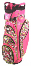 Pink Flowered Womens Cart Bag