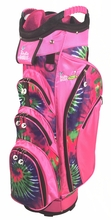 Pinkadelic!  Pink Tye Die Ladies Cart Bag