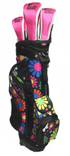 Moondance - Ladies Hybrid Golf Bag with Headcovers