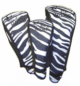 Zebra Golf Head Covers