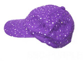 Purple Sequin Cap