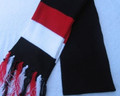 Black, Red & White : Trinidad Scarf