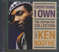 Ken Boothe : Everything I Own - The Definitive Collection 2CD