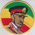 Embroidered Patch : Haile Selassie I