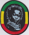 Embroidered Patch : Rasta Baby