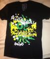 Jamaica 50th Anniversary : 1962 - 2012 Downtown Black - T Shirt