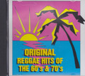 Original Reggae Hits Of The 60's & 70's : Various Artist CD