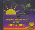Original Reggae Hits Of The 60's & 70's Vol. 3 : Various Artist CD