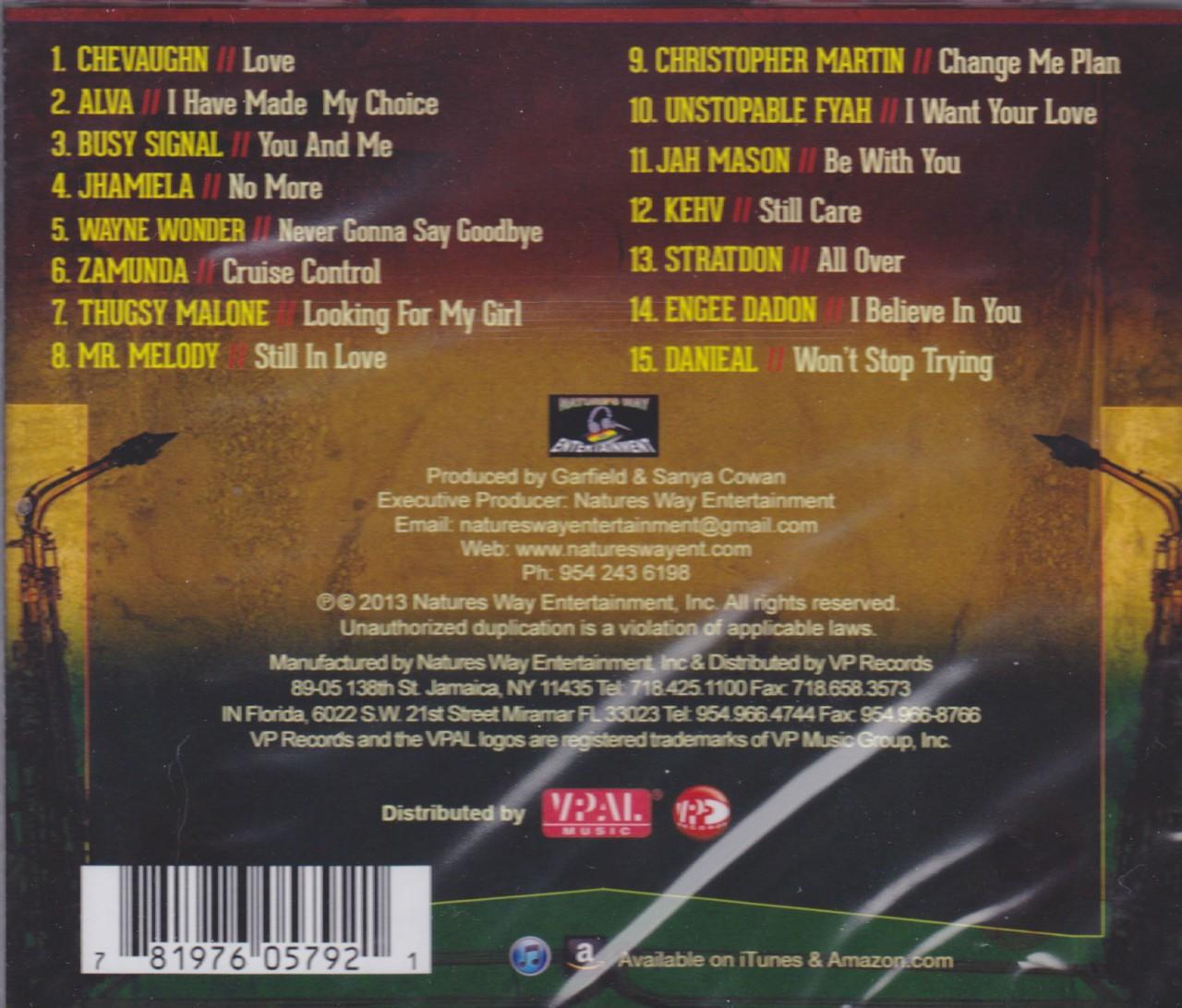 Soul Reggae Riddim : Various Artist CD