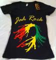 Jah Rock : Black - Women's T Shirt