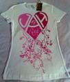 Jah Rock : White (Heart) - Women's T Shirt
