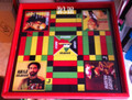 Ludo Board & Draughts Board - Black, Red, Green & Gold : Black Heroes (Custom) Large