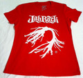 Jah Rock : White Root - Red Women's T Shirt