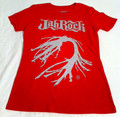 Jah Rock : Grey Root - Red Women's T Shirt
