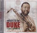 Tony Greene : Tribute To The Duke CD