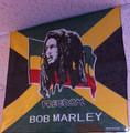 Bob Marley : JA Freedom Rasta - Handkerchief, Headwrap, Bandana