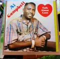 Al Campbell : Talk About Love LP