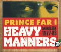 Prince Far I : Heavy Manners Anthology 1977 - 1983 : Various Artist 2CD