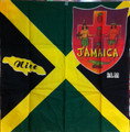 Jamaica Flag & Coat Of Arms - Scarf (New)