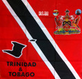 Trinidad & Tobago Flag & Coat Of Arms - Scarf (New)