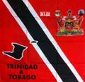Trinidad & Tobago Flag & Coat Of Arms - Scarf (New)