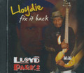 Lloyd Parks (Lloydie) : Fix It Back CD