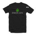 Rasta Life : Rasta - T Shirt (Black)