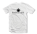 Rasta Life : Rasta - T Shirt (White)