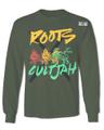 Roots X CultJah : Rasta - T Shirt (Long Sleeves)